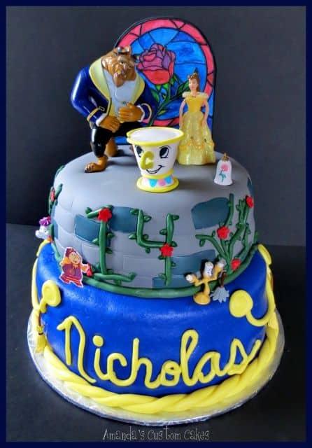 bolo temático Princesa Disney