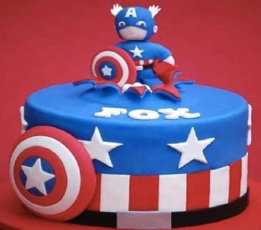 decoração de festa capitão américa - imagens e dicas