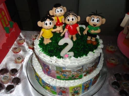 bolo decorado para criança