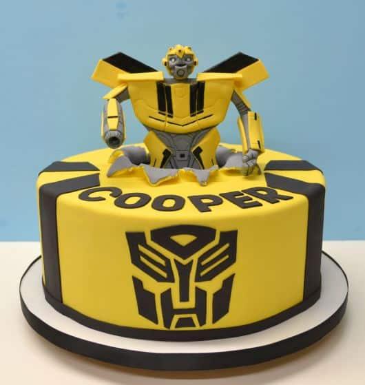 festa de aniversario tema transformers