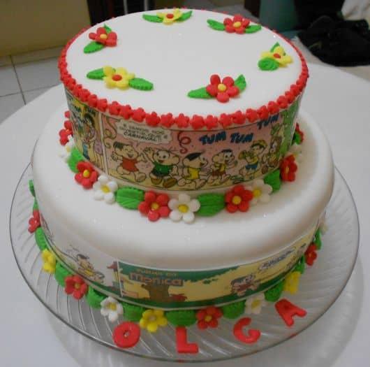 ideia de bolo temático