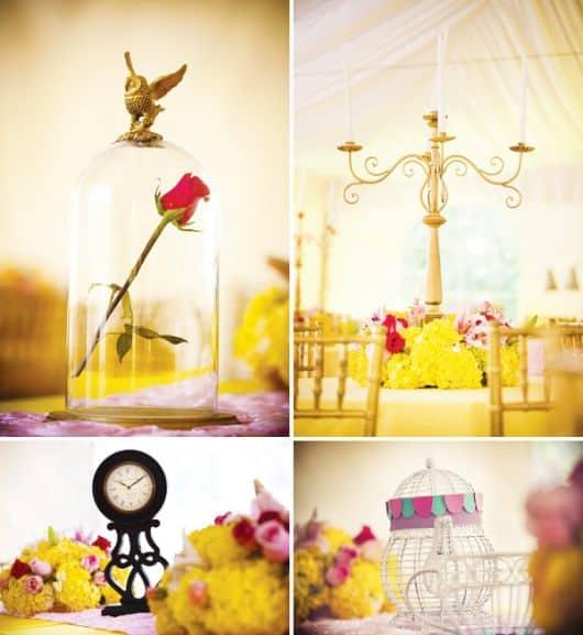 fotos de centros de mesa
