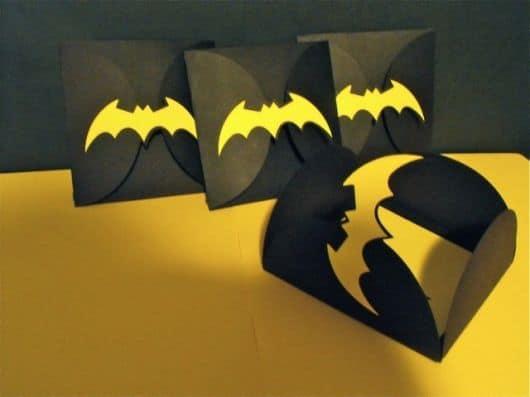festa batman convite