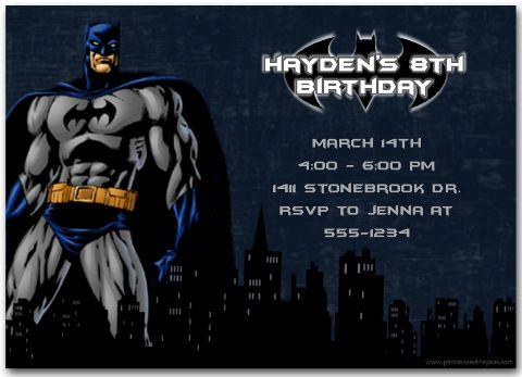 ideias para aniversário temático Batman