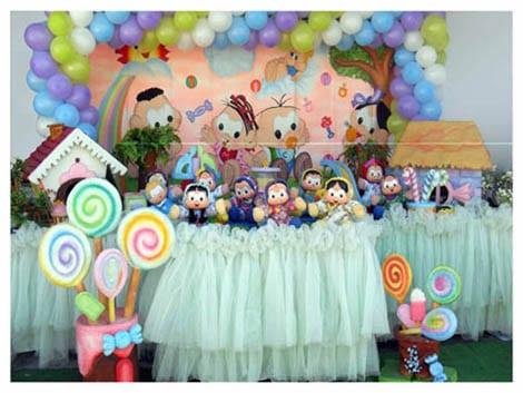 festa infantil turma da mônica baby