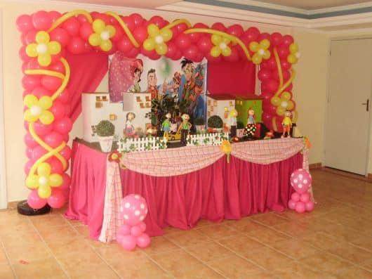 festa aniversário turma da mônica jovem