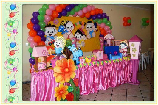 festa turma da mônica versão baby