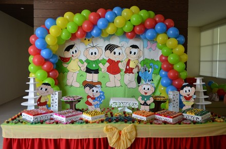festa infantil turma da mônica