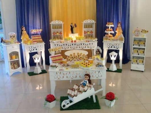 foto de decoração de aniversário provençal
