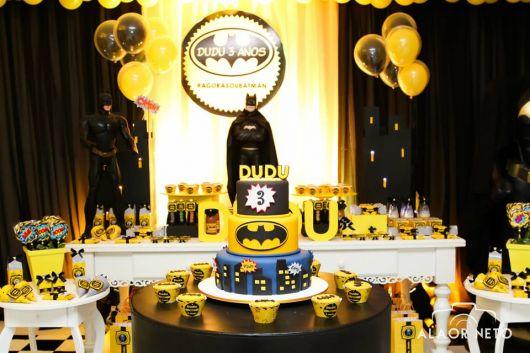 festa do batman decoração