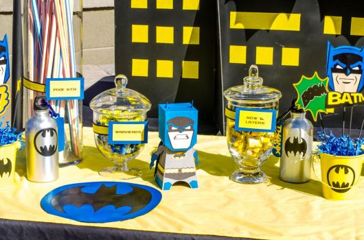 festa do batman e robin blog
