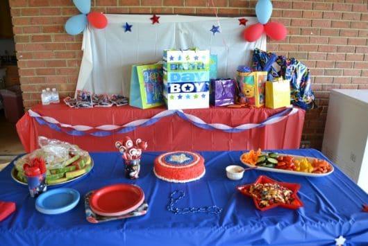 festa capitão américa bonita