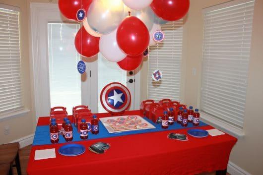melhores festas capitão américa