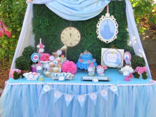 ideias festa de aniversário cinderela