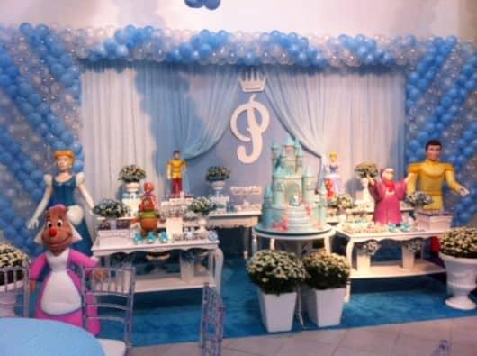 foto festa da cinderela e o principe