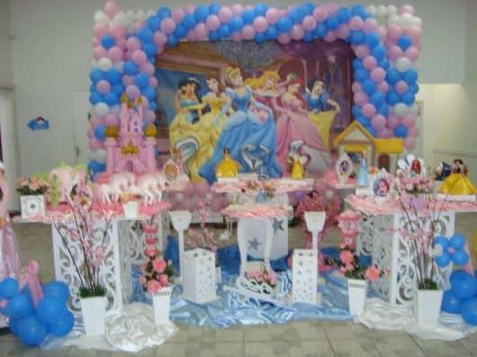 ornamentação festa da cinderela
