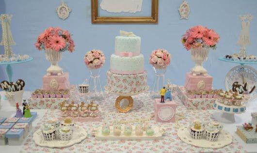 bolo de festa da cinderela