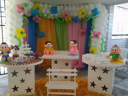 kit festa turma da mônica baby