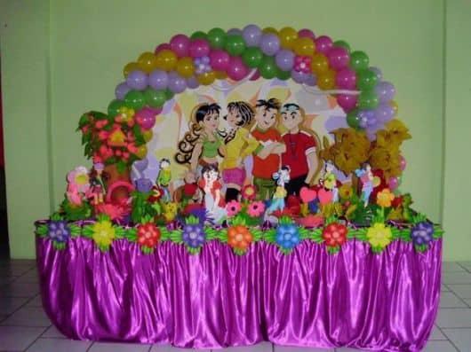 Imagem de festa turma da mônica jovem