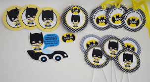 kits de festa do batman prontos