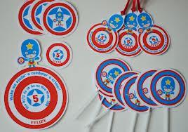 festa capitão américa simples