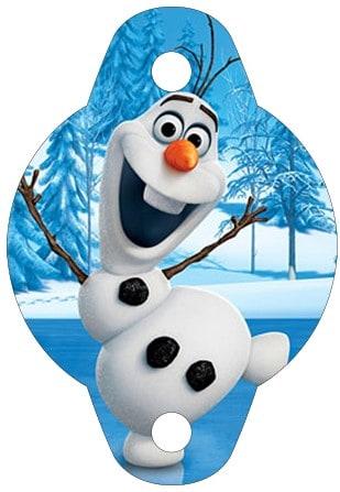 Itens de aniversário da Frozen grátis