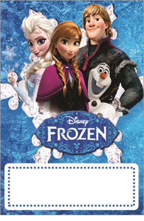 Modelos grátis de aniversário Frozen para personalizar