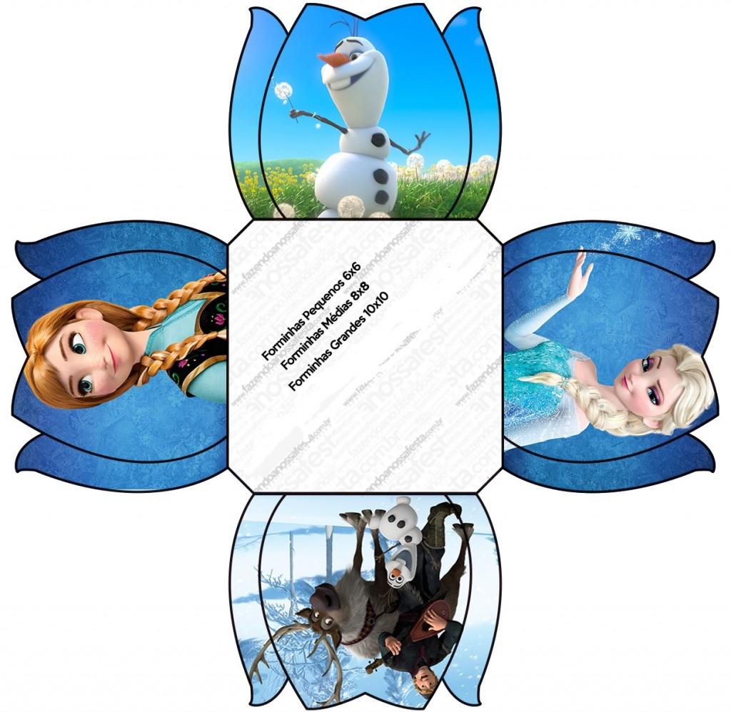 kit festa frozen download