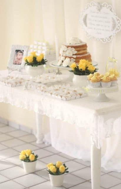 Mesa De Batizado Menina