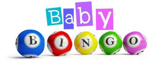bingo para chá de bebê