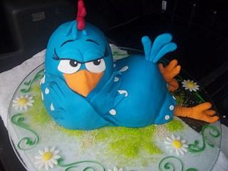 Modelos de bolo galinha pintadinha