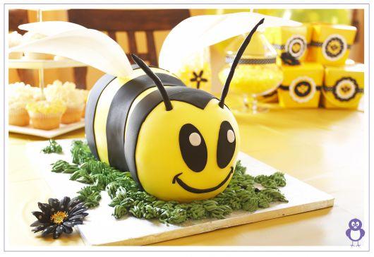 foto de bolo abelhinha