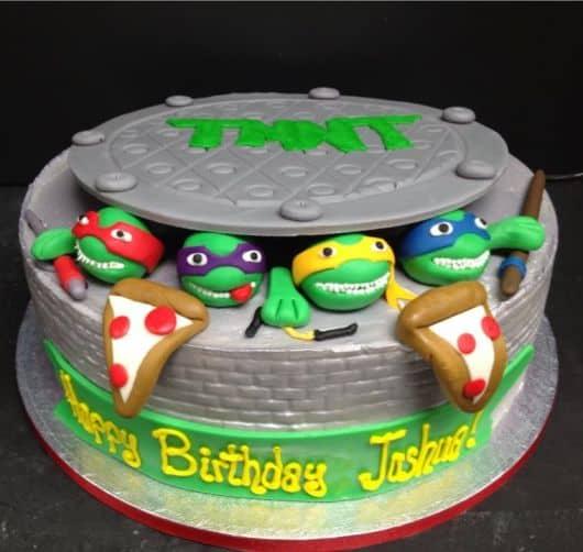 tudo para fazer aniversário das tartarugas ninja