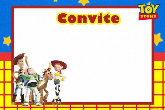 convite toys store imprimir