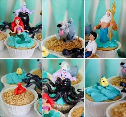 fotos de festinha da Ariel
