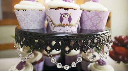 enfeites dos cupcakes temáticos