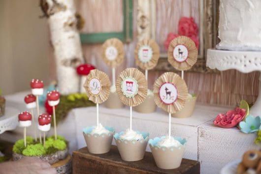 cupcakes da corujinha