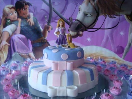 decoracao modelo festa enrolados rapunzel