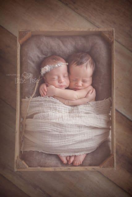 fotografia profissional de recém nascidos gemêos