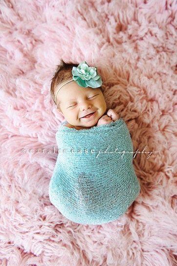 foto de bebê sorrindo