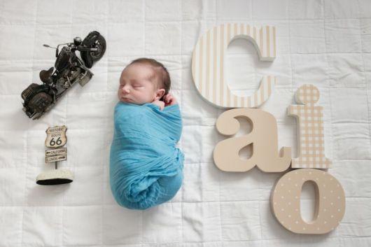 foto de menino recém-nascido