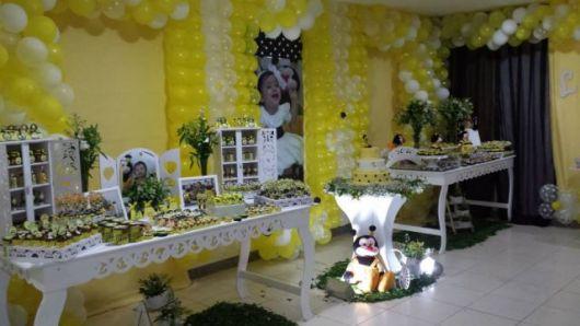 decoração provençal da abelhinha bebê