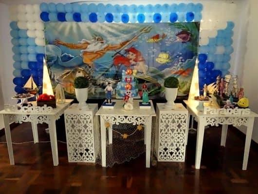 como fazer aniversário provençal da Ariel