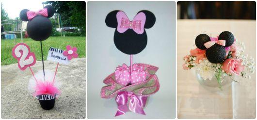 ideias para festa da minnie rosa