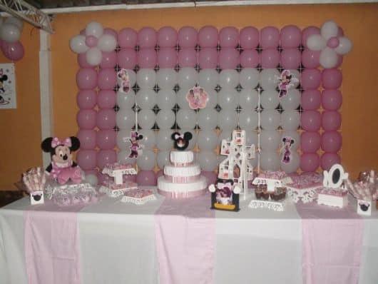 tudo sobre festa da minnie rosa simples