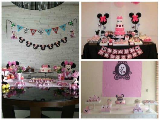 imagens de aniversário minnie cor rosa