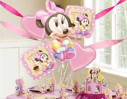 decoração minnie baby rosa