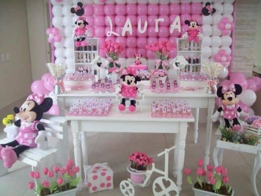 festa da minnie rosa provençal