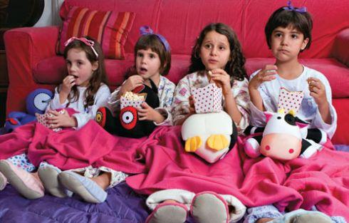 decoração da Festa Do Pijama Para Meninas