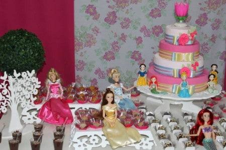 enfeites provençais temática princesas disney